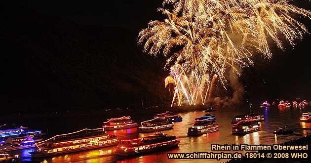 rhein in flammen rüdesheim 2019